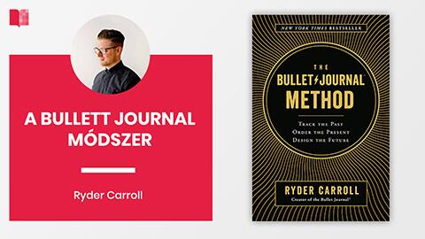 A bullett journal módszer